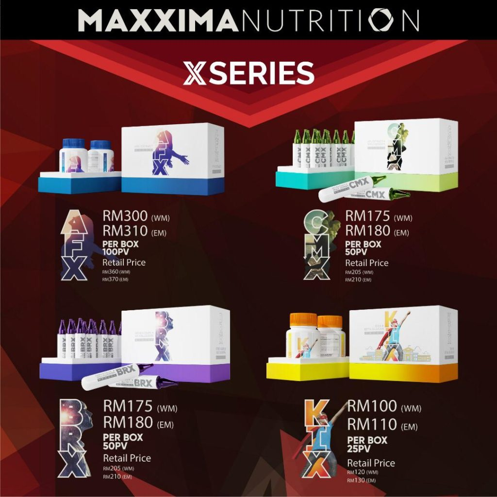 Maxxima Nutrition X Series
